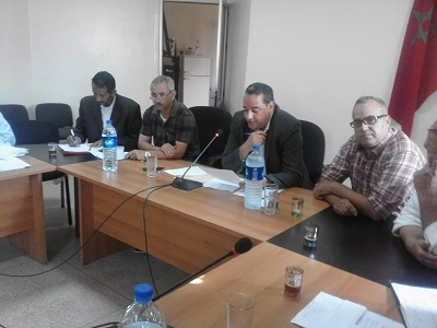 المجلس الجماعي سيدي بوموسى بهوارة ينتخب لجنه الدائمة
