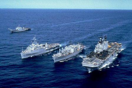 خطير : طبول الحرب العالمية الثالثة تدق في المحيط الهادئ