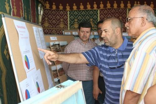 """عمدة المدينة يزور موقع """"أكادير لاند"""" لتفقد سير الأشغال"""