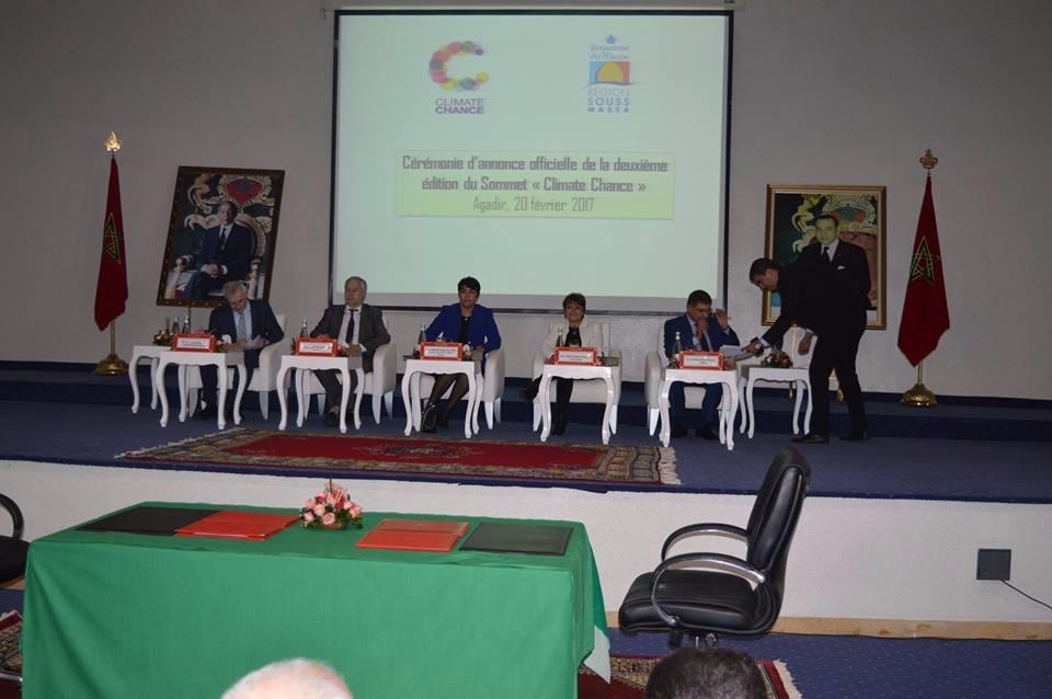 أكادير تحتضن قمة Climate chance لتتبع مقررات قمة المناخ COP22
