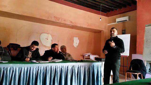 """دورات تكوينية لفائدة منتخبي وموظفي الجماعات حول """"التنمية المحلية"""" بورزازات"""